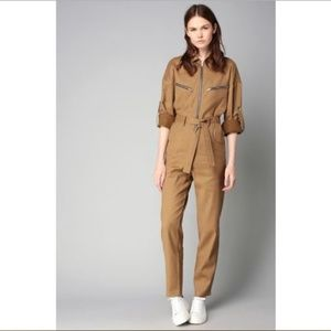 IRO Iggy Jumpsuit Belted Zip Detail Boilersuit 8